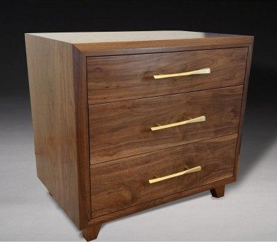 Custom Mid-century modern nightstand