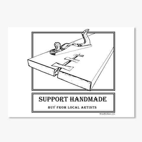 Support Handmade Sticker