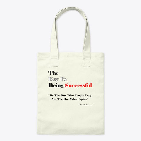 The Key To being Successful Tote bag