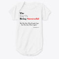 The Key To being Successful baby onesie