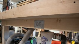 workbench with electricity