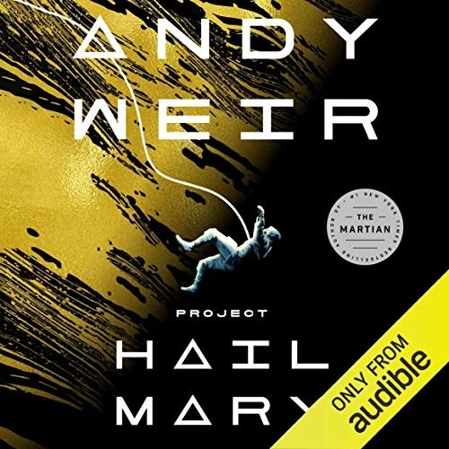 Project Hail Mary Audiobook Cover