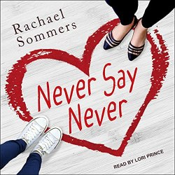 Never Say Never Audiobook Cover
