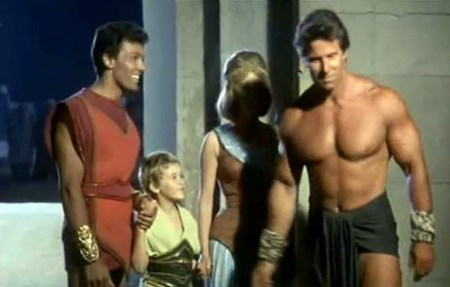 Reg Park at Brians DriveIn Theater