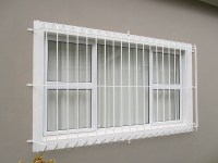 Burglar Bars manufactured by Brian's Engineering, Somerset ...