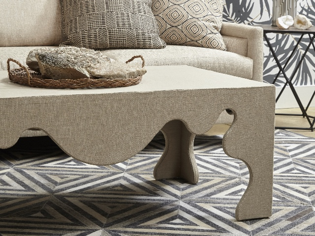 Chip Cocktail Ottoman by Norwalk Furniture