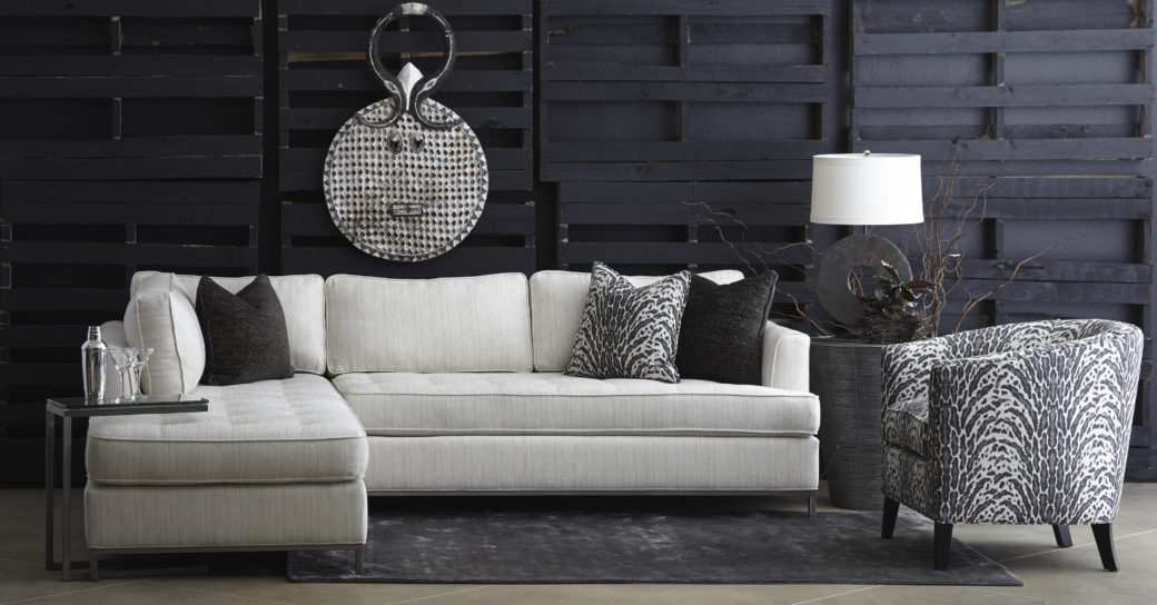 Colton sectional Sally chair
