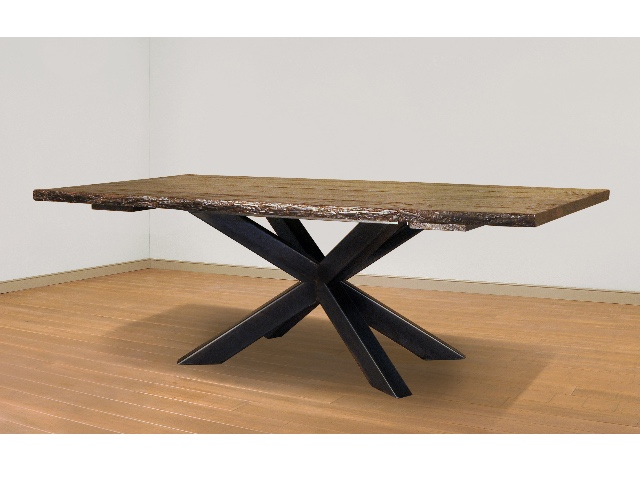 Hedgehog Live Edge Dining Table