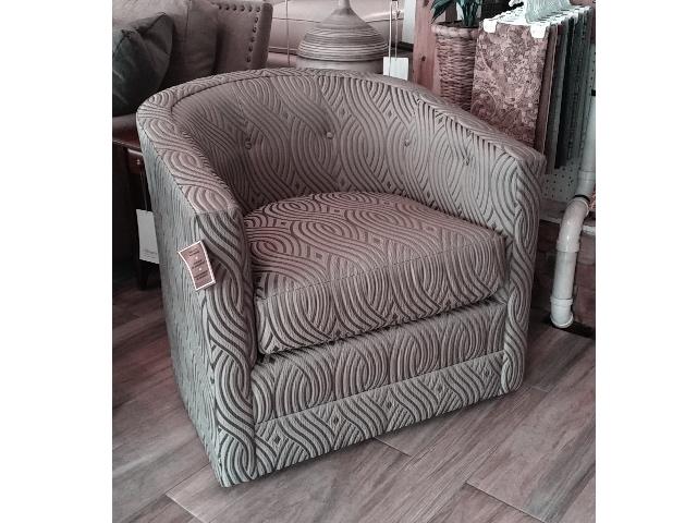 #CA6061 Swivel Chair
