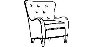 502 Wingback Chair