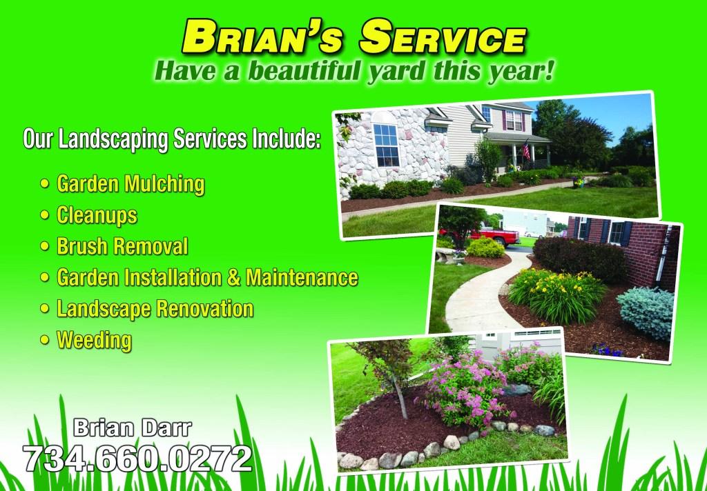 Brians Service EDDM FRONT 7-2-14 img