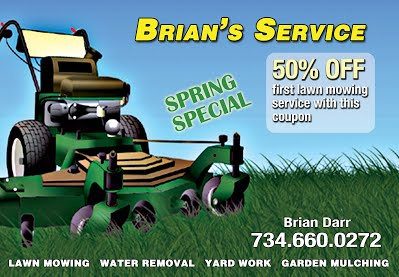 Brians Service EDDM Front img