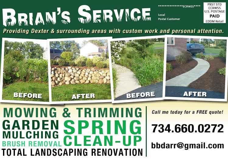 Brians Service EDDM Front 2016 Spring