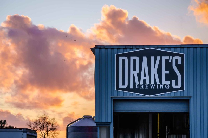 Drakes Brewing Sunset