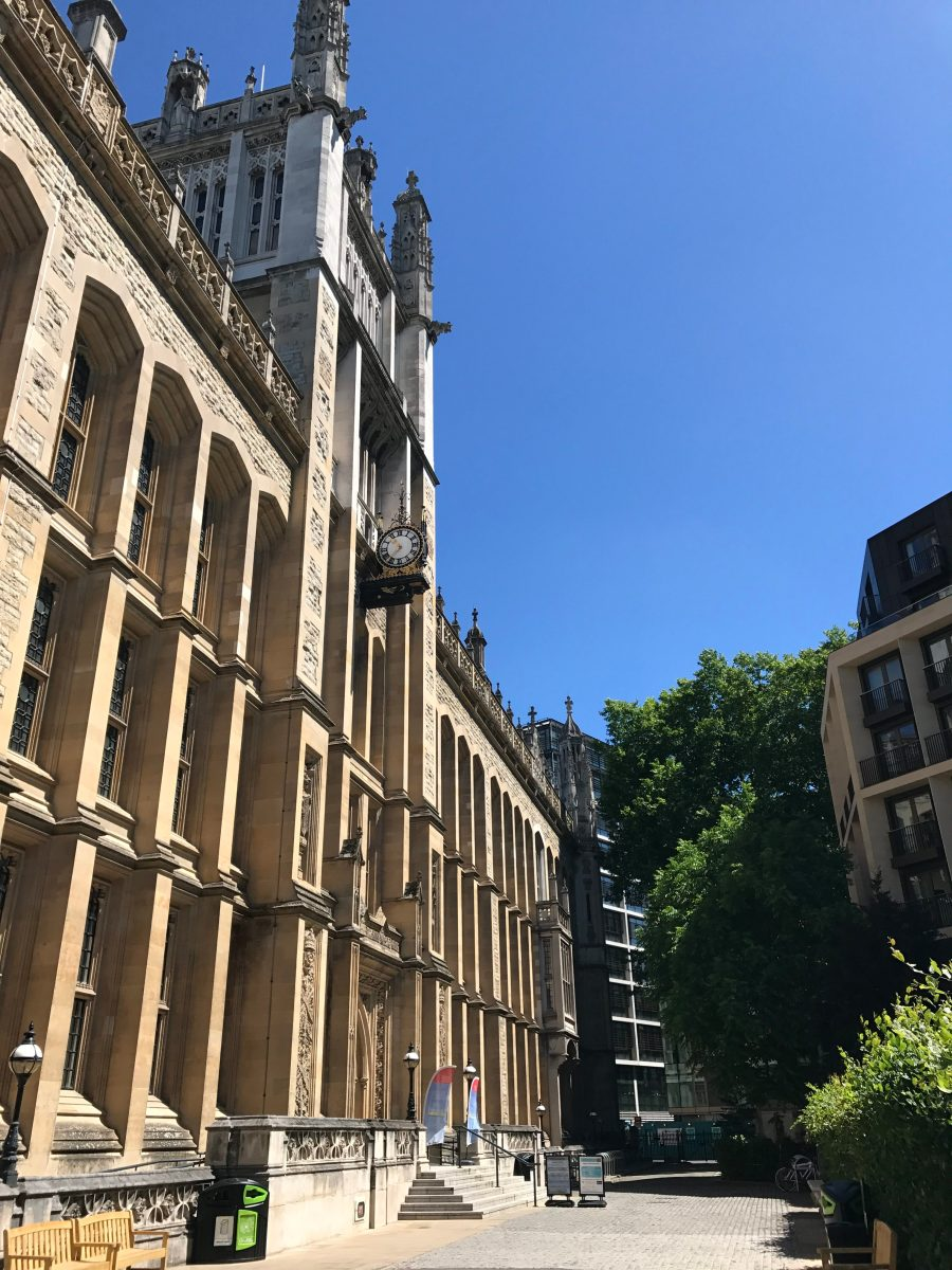 The King's Maughan Library in Chancery Lane