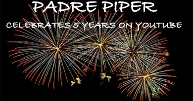 Padre Piper  Commemorates 5 Unforgettable Years as YouTube Powerhouse