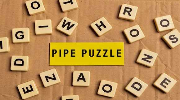 Pipe Puzzle Word Search