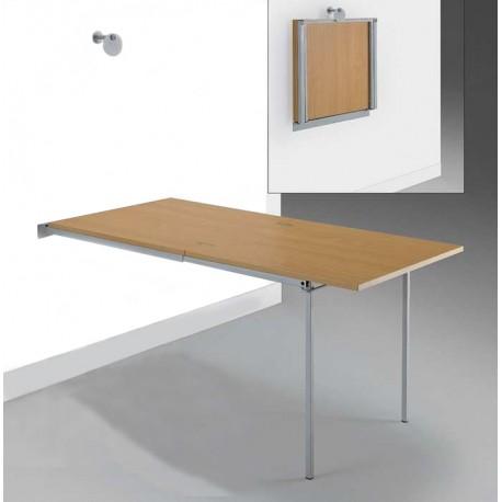 Estructura para mesa de cocina apartamento plegable y