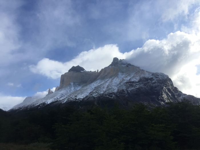 Rocks of the French Valley in Torres del Paine