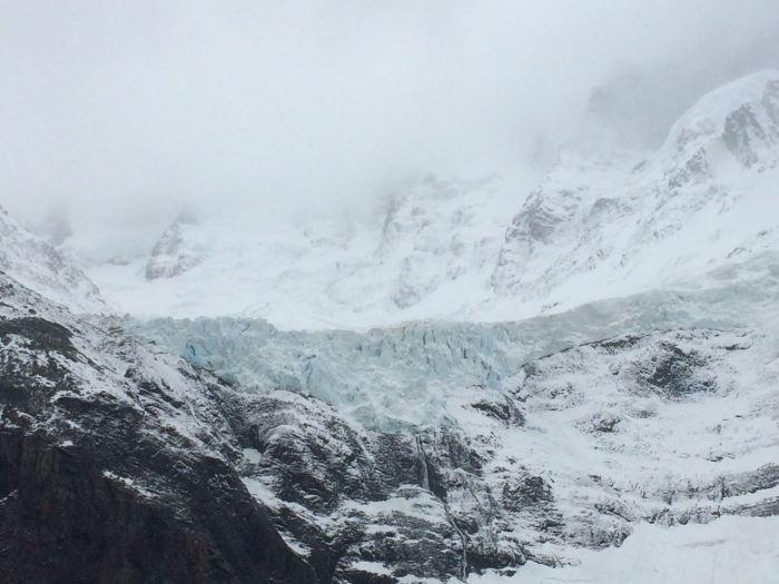 View of Glacier Grey from first mirador
