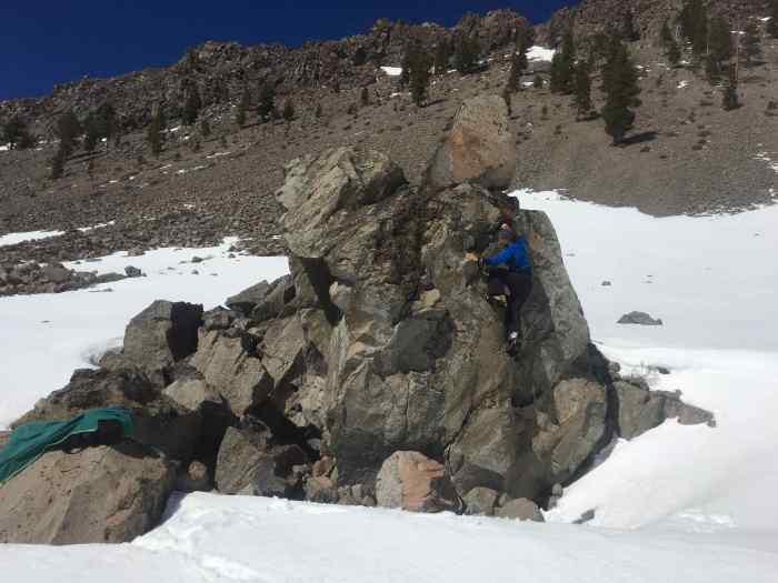 Bouldering near Chaos Criags