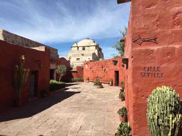 Monastery of arequipa
