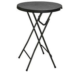 tavolo-alto-pieghevole-stile-rattan-nero