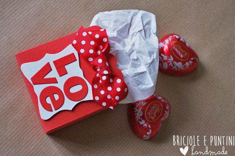 scatolina di San Valentino con la Big Shot