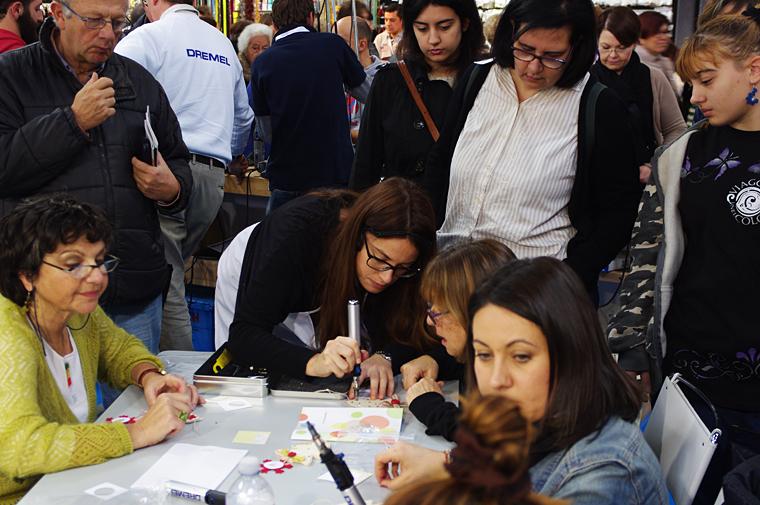 Briciole e Puntini workshop Dremel Mondo Creativo