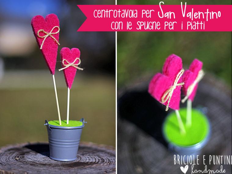 #LogexCraftProject - riciclo creativo spugne abrasive per San Valentino