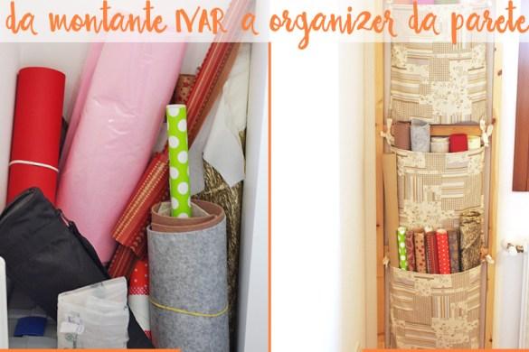 Ikea Hack - da montante Ivar a organizer da parete