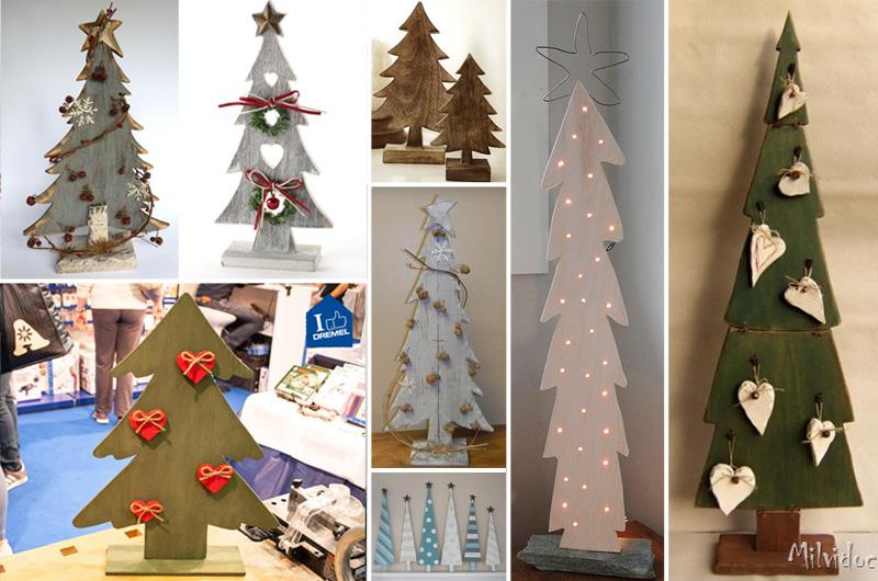 Alberi Di Natale In Legno Tutti I Tutorial Compreso Il Mio