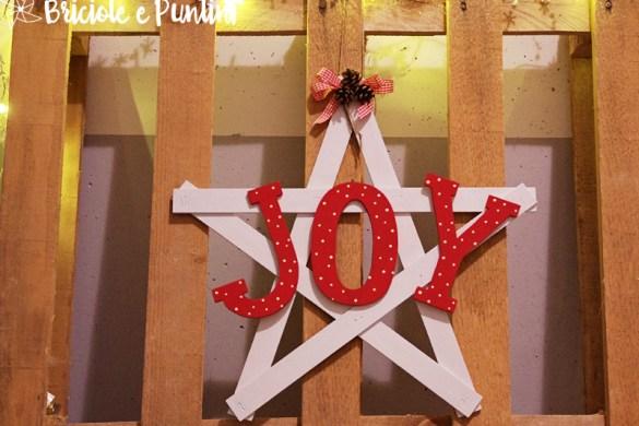 stella di Natale in legno - tutorial