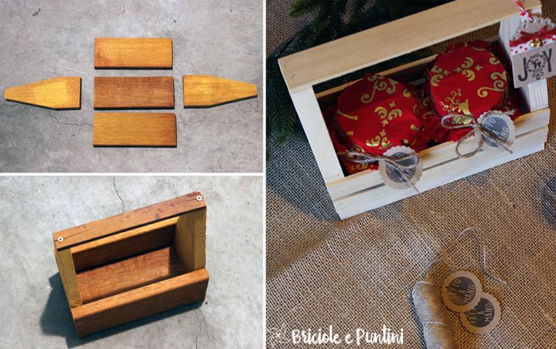 spesso Regali fai da te: toolbox in legno porta marmellate XV95