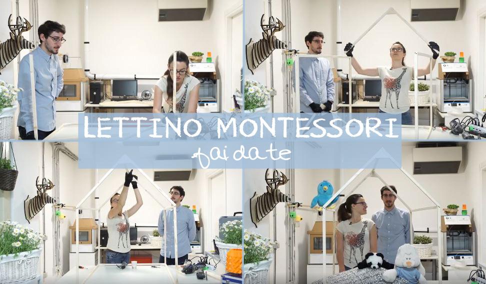 Cameretta Montessoriana Fai Da Te : Lettino montessori fai da te con dremel u briciole e puntini
