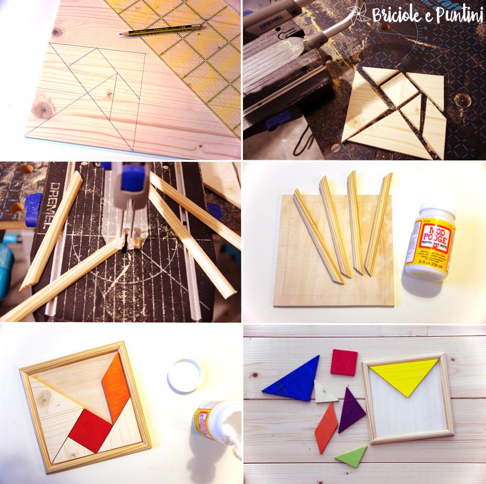 tutorial tangram fai da te con Dremel Motosaw