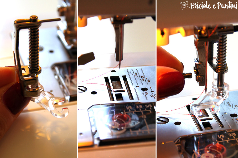 Tutorial ricamo a macchina a mano libera freehand machine embroidery