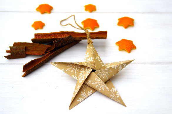 tutorial stella origami per Natale