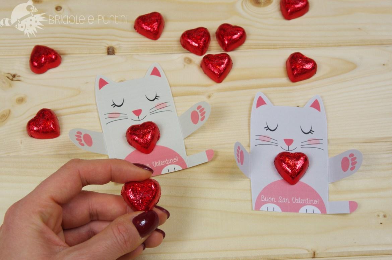 animali abbraccia cioccolatini per San Valentino