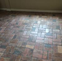 Reclaimed thin brick floor - Brick Floor Tile