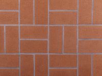 Brick Colored Tile | Tile Design Ideas