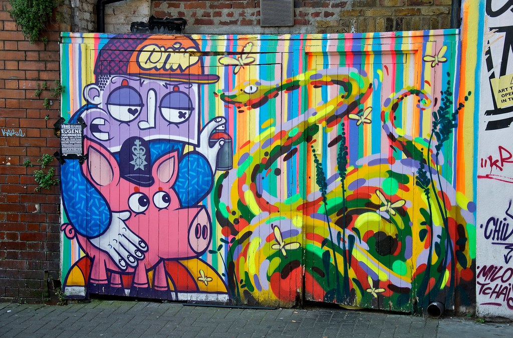 Brick Lane Graffiti and Street Art