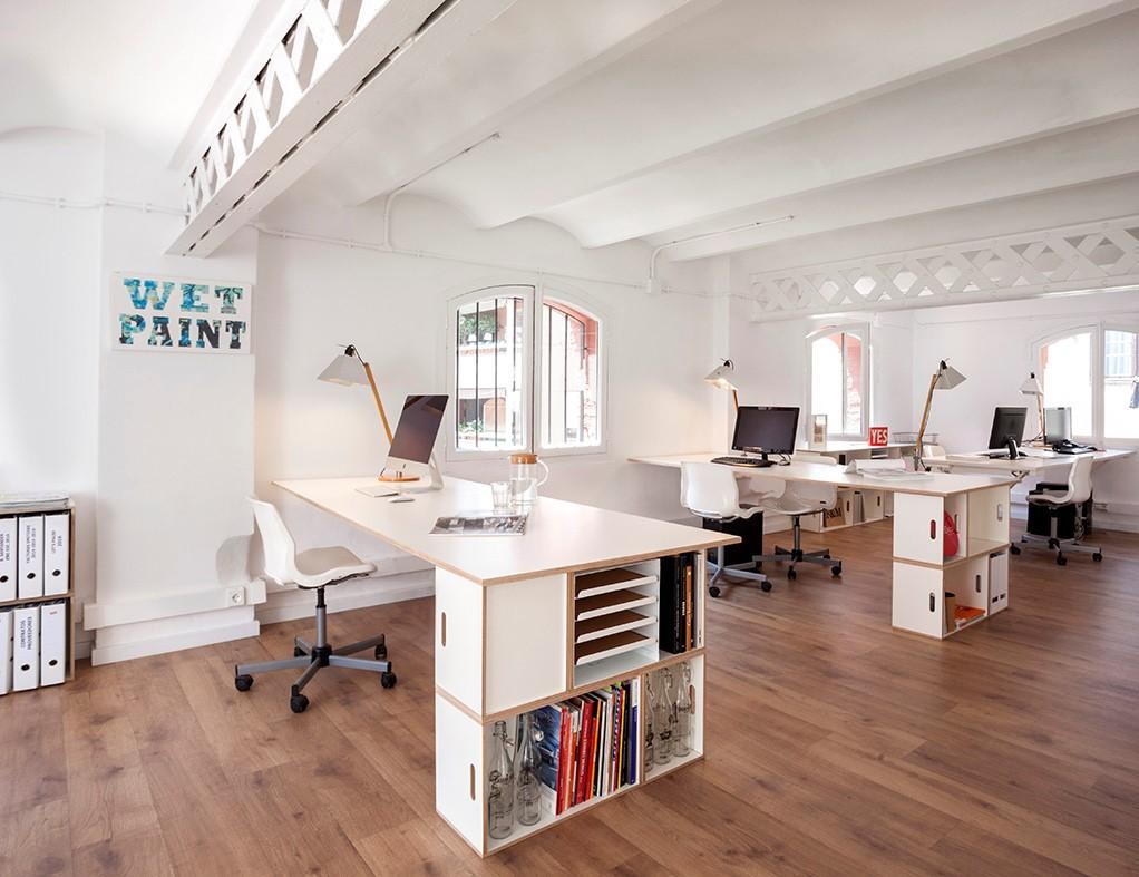 Muebles modulares para la oficina  Brickbox  estanterias