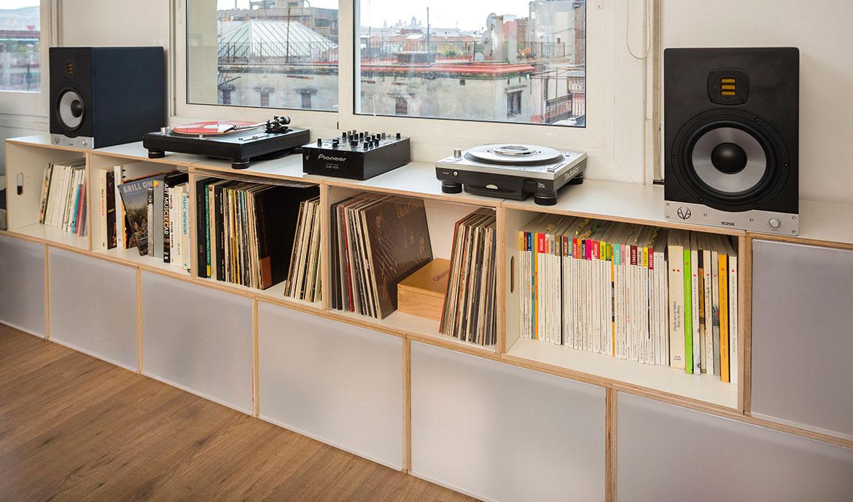 Cajas XL para discos de vinilo y archivadores  Brickbox
