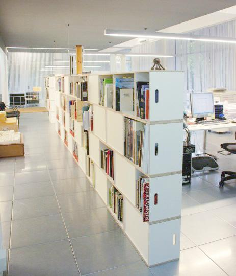Galera de imgenes  Brickbox  estanterias librerias