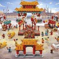 Lego 中國農曆新年 2020 系列發佈 舞獅及廟會