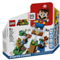 Lego 71360 Adventures with Mario Starter Course 入門競賽跑道香港開放預訂 送 Lego 30385 Super Mushroom Surprise