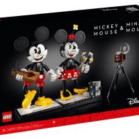 Lego 43179 Mickey Mouse & Minnie Mouse 香港7月1日上市 香港樂高認證專門店開售