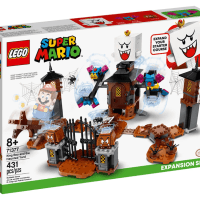 Lego 71377 King Boo and the Haunted Yard Expansion Set 香港LCS Mega box Pop Up Store 獨家發售