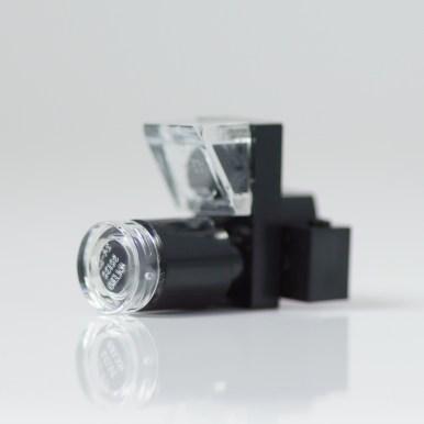 Camera with external flash